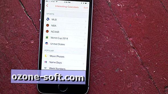 Lisa huvitavaid kalendreid iOS-i Sunrise'le