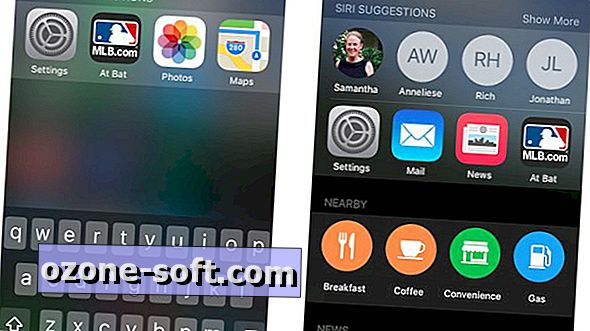 Kuidas kohandada iOS 9 proaktiivset otsingut