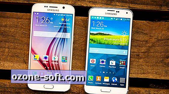 Hvordan endre ikonet gridstørrelse på Galaxy S6, S6 Edge