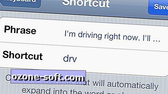 """Dešimt patogių """"AutoText"""" nuorodų, kuriuos turėtumėte sukurti """"iOS 5"""""""