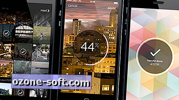 Del boatloads av iPhone-bilder, videoer med WeTransfer