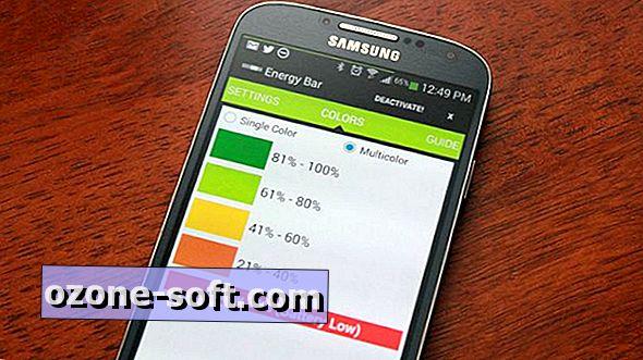 Energy Bar ile Android ekranınızın üstüne bir batarya çubuğu ekleyin