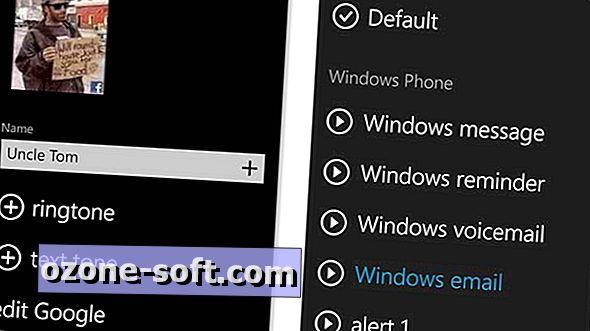 Cách đặt cảnh báo liên hệ tùy chỉnh trên Windows Phone 8.1