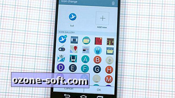 Alkalmazza az alkalmazás ikonjait az LG G3 készüléken