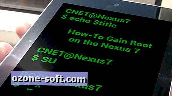 A Google Nexus 7 rendszerének gyökerezése