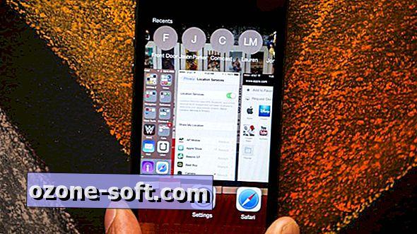 Noņemiet traucējumu no lietotņu pārslēdzēja iOS 8
