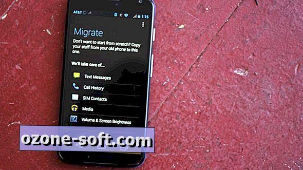 Migrujte data ze starého zařízení Android do počítače Moto X