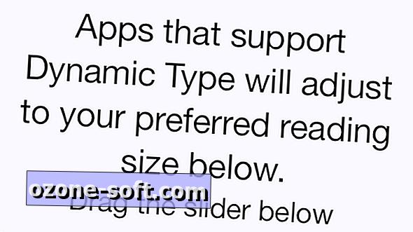 Как да направим размера на текста в цялата система още по-голям в iOS 7