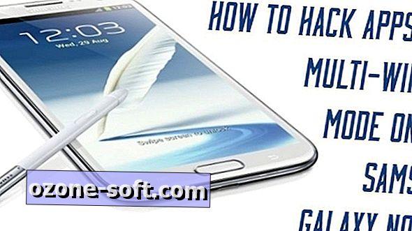 كيفية الإختراق التطبيقات في وضع متعدد النوافذ على Galaxy Note 2