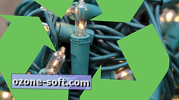 Comment recycler les vieilles lumières de Noël cassées