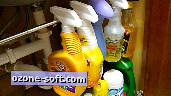 Utilisez une tige de tension pour augmenter l'espace de stockage sous l'évier