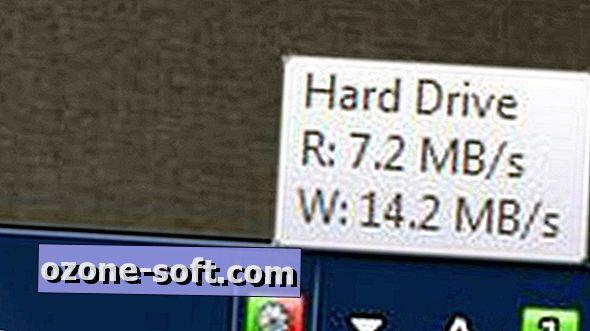 Lägg till en hårddiskaktivitetsindikator i systemfältet i Windows