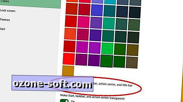 So stellen Sie die Farbe der Titelleisten in Windows 10 wieder her