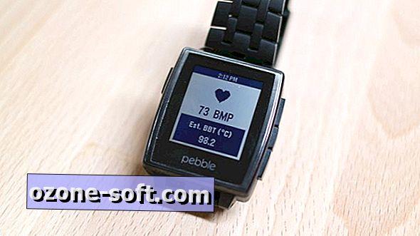 Använd en iPhone, Pebble Watch för att spåra din puls